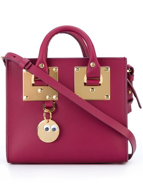 SOPHIE HULME 'Albion' tote. #sophiehulme #bags #leather #hand bags #tote #