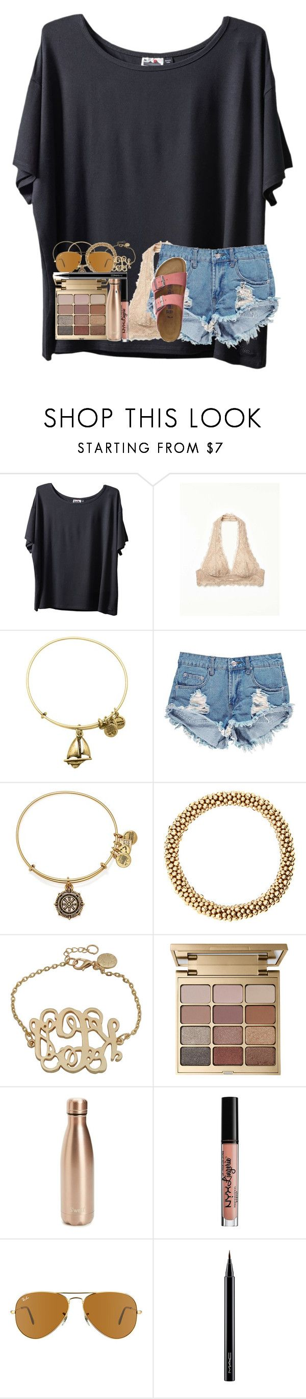 """Thanks guys for all the followers, I really appreciate it, ❤ y'all"" by abigailcdunn ❤ liked on Polyvore featuring Kavu, Free People, Alex and Ani, Boohoo, Stila, S'well, NYX, Ray-Ban, MAC Cosmetics and TravelSmith"