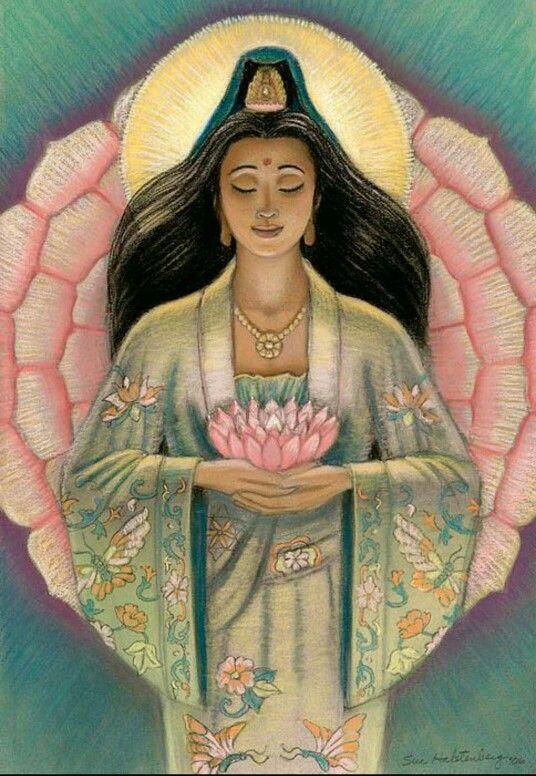 19 de Fevereiro se celebra na China Kwan Yin. Seus simbolos são uma flor de loto, chá preto, arroz, e o arco-íris. Kwan Yin é a Deusa mais querida no oeste, dando livremente sua compaixão infinita, fertilidade, saúde e visão mágica a todos que a peção. Seu dever é aliviar!