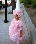 Homemade Cotton Candy Costume - 2011 Halloween Costume Contest