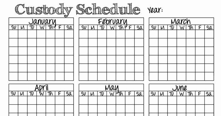 Child Custody Calendar Template Beautiful 8 Best Divorce Images On Pinterest Co Parenting Child Custody Parenting Plan Child support worksheet and schedule