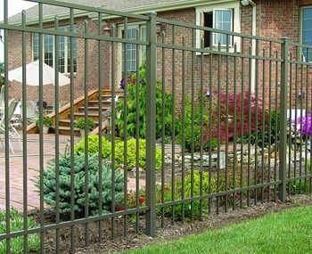 aluminum picket fences aluminum gates aluminum flagpoles by superior