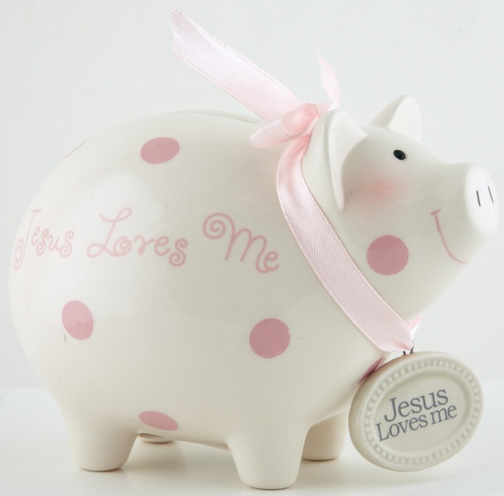 One piggy went to the market... one stayed home... one went weeeee all the way to the bank.