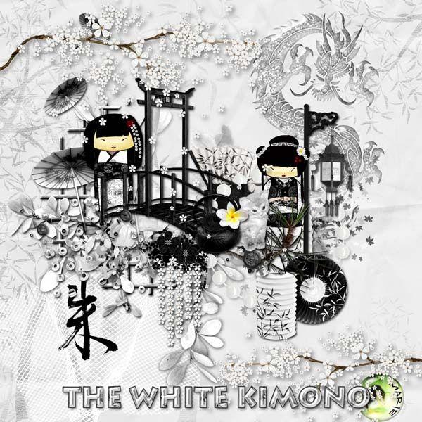 The White Kimono by Marie