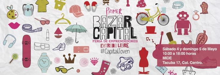 @MIDE Museo Interactivo de Economía, No te pierdas del 1er BAZAR CAPITAL @Phanie Contro nos platicará sobre ello.