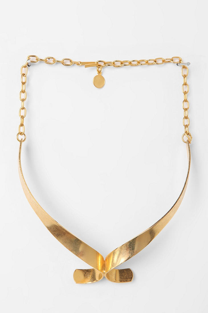 Diament Jewelry For Urban Renewal Swirl Choker Necklace  #UrbanOutfitters