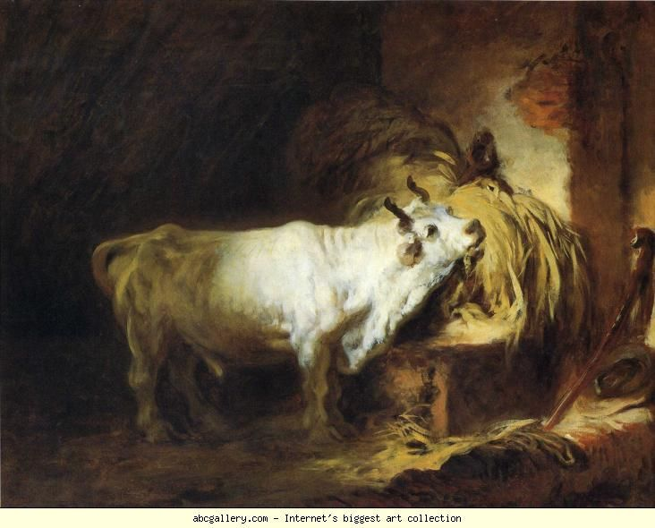 Jean-Honoré Fragonard. The White Bull.