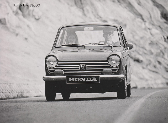 Honda N600 1967 by Michiel V, via Flickr