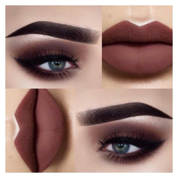 21 Sexy Smokey Eye Makeup Ideas to Help You Catch His Attention See... ❤ liked on Polyvore featuring beauty products and makeup