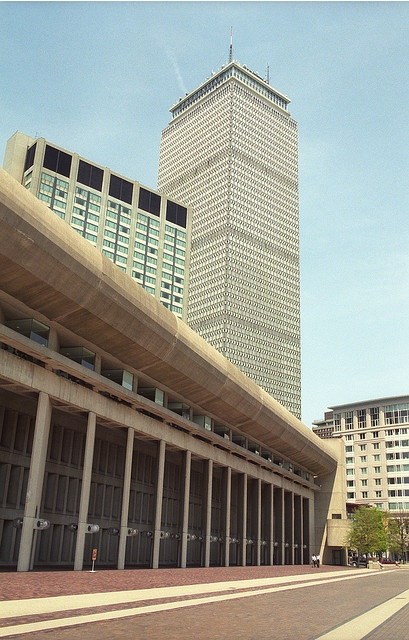 The First Church of Christ, Scientist designed by I.M. Pei
