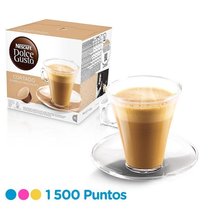 Todo el sabor del café y leche en una sola cápsula. Caja con 16 cápsulas para 16 tazas. Canjéalo por 1,500 puntos