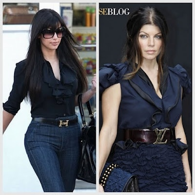Belts. I love fergie's outfit