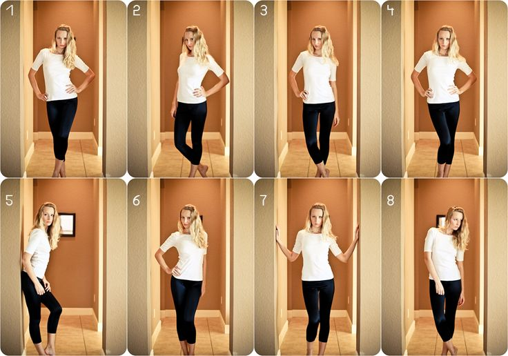 flattering poses for a female - must remember for pictures
