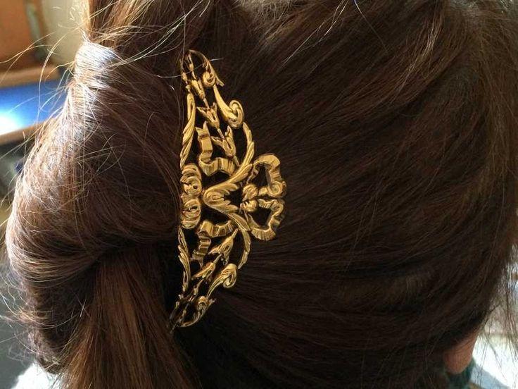 Epingle à Cheveux Marie Doré patiné