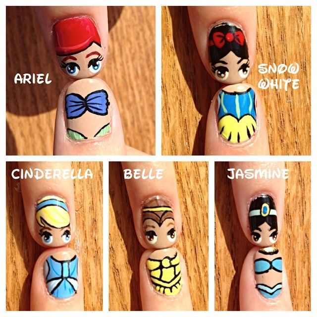 Mulan Inspired Nails: 1000+ Ideas About Disney Princess Nails On Pinterest