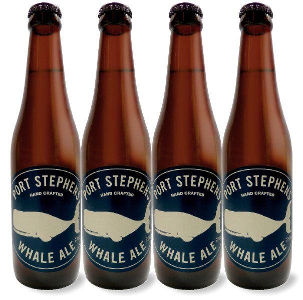 port stephens whale ale bottle the o 39 jays and beer. Black Bedroom Furniture Sets. Home Design Ideas