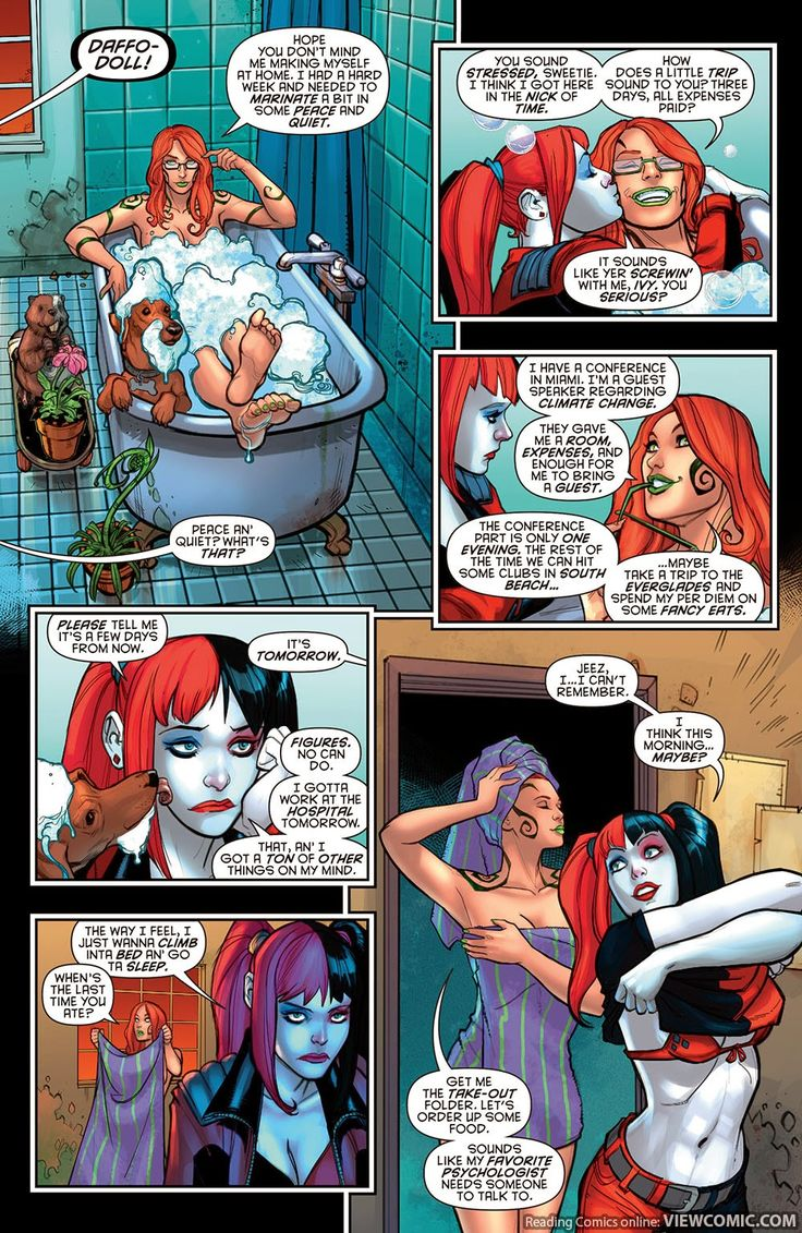 Harley Quinn 015 (2015) ………………………… | View Comic