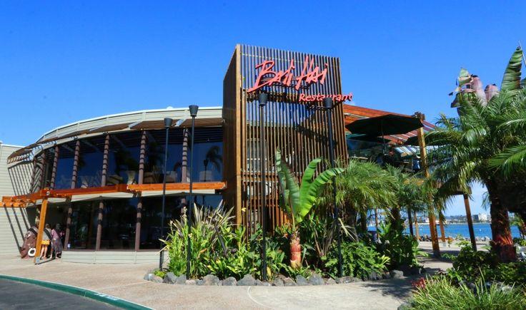 The Daring Gourmet Dines Out:  Bali Hai Restaurant, Shelter Island, San Diego, California