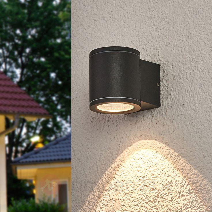 Naar onder schijnende LED wandlamp Nuria veilig & makkelijk online bestellen op lampen24.nl