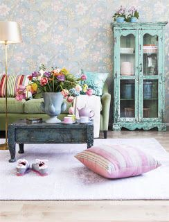 """322. pink, cyan traditional living roomArchitecture Travel Inspiration Pictures Wonderful door castle patio wrought iron gorgeous fountains stone european style marble staircases arches architecture fireplaces romantic places stained glass Moroccan style from <a href=""""http://whatchickstalkabout.blogspot.com/"""" target=""""_blank"""">WhatChicksTalkAbout.blogspot.com</a>"""