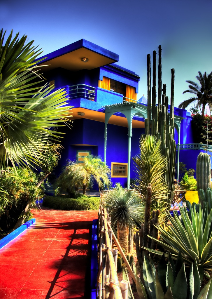 17 best images about places i have been on pinterest for Jardin majorelle