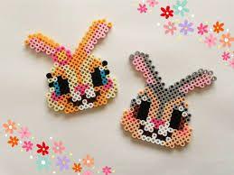 Bunny perler beads