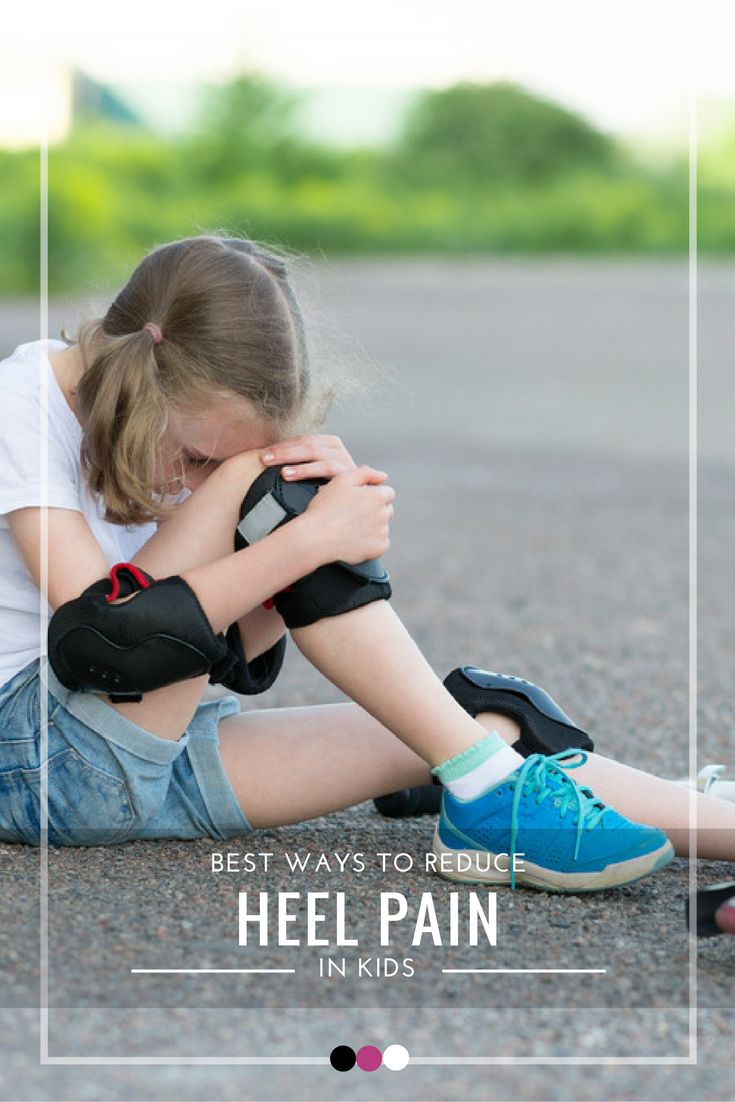 Time to uncover the best ways to tackle heel pain in kids