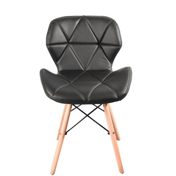 Eiffel Retro Padded Pentagone Design Chair Dining Chair Lounge