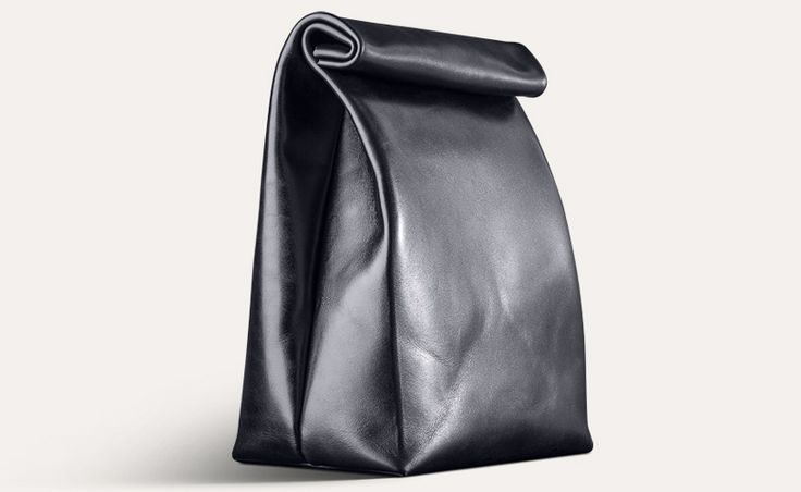 Leather Lunch Bag by Moreca http://www.morecaworldwide.com/catalog/bags