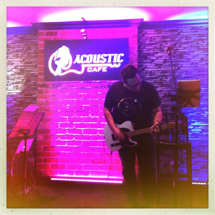 ALL THINGS NEW album launch at Acoustic Cafe 28 March 2014