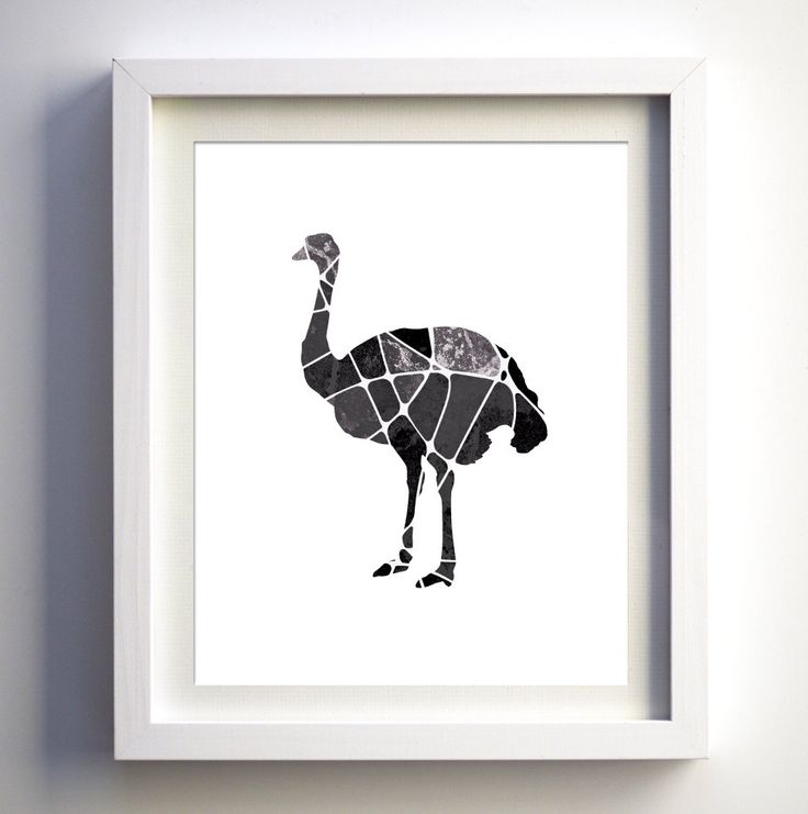 Black and White Gemetric Ostrich Art Print, Ostricht Silhouette, African Wall Decor Art Asian Wall Art, Kids Wall Art Safari, Black & White by FancyPrintsforHome on Etsy https://www.etsy.com/listing/202013165/black-and-white-gemetric-ostrich-art