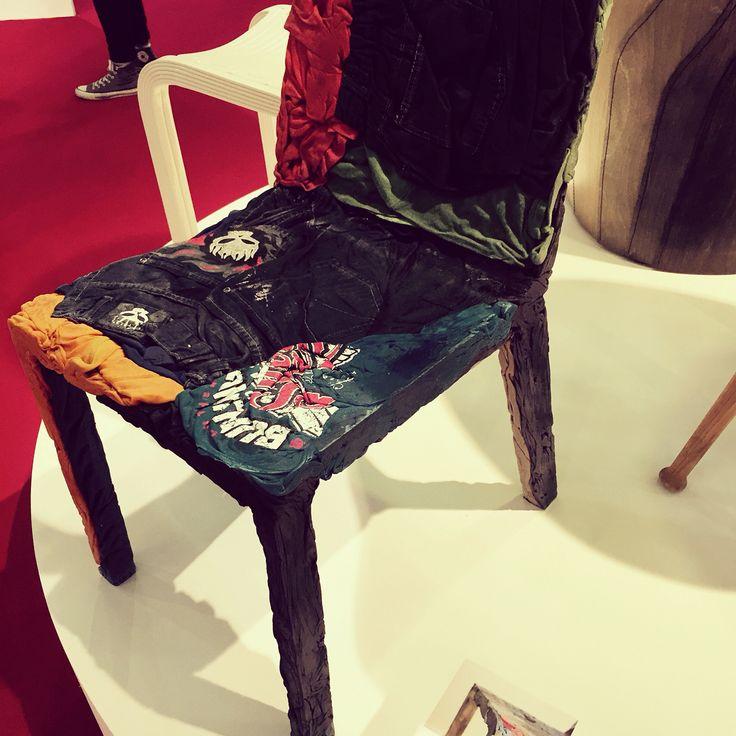 Inspirerende design stoel @orgatec beurs