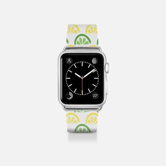Lemon Lime Pattern Apple watch bands, Apple watch bands