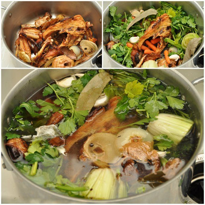 Homemade Chicken Stock | Yummy | Pinterest