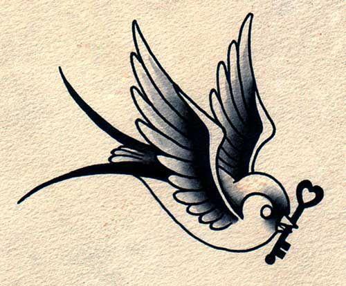 20 LINDAS Tattoos de Andorinha: Fotos + Significado!