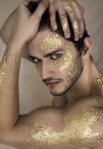 male makeup photography - Google Search