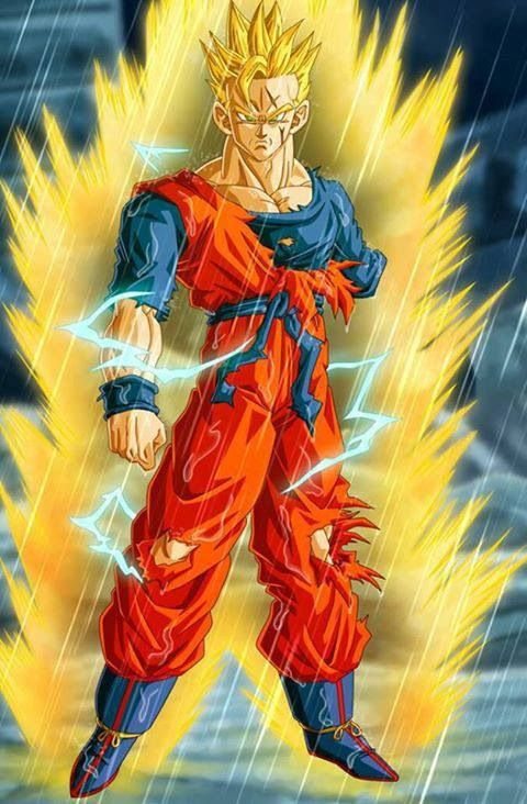 Gohan fights with one arm, to protect his friend. Not because of fate, but because of choice.