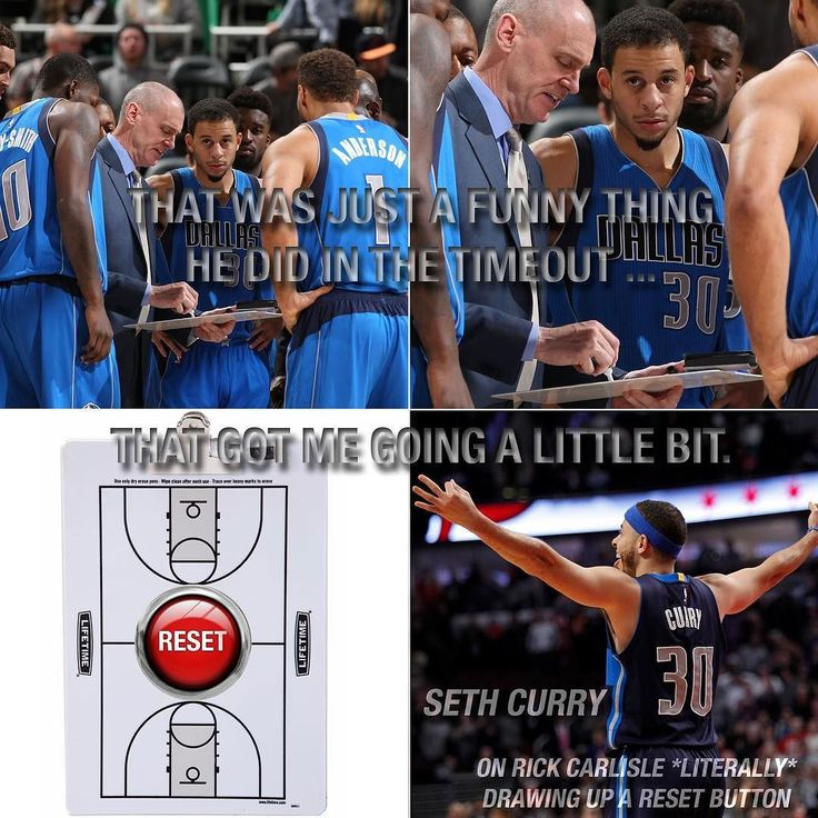 @dallasmavs coach Rick Carlisle *literally* drew up a reset button during a timeout, and @sdotcurry pressed it. http://ift.tt/2k0KxOW