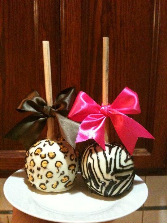 Leopard and Zebra cake pops