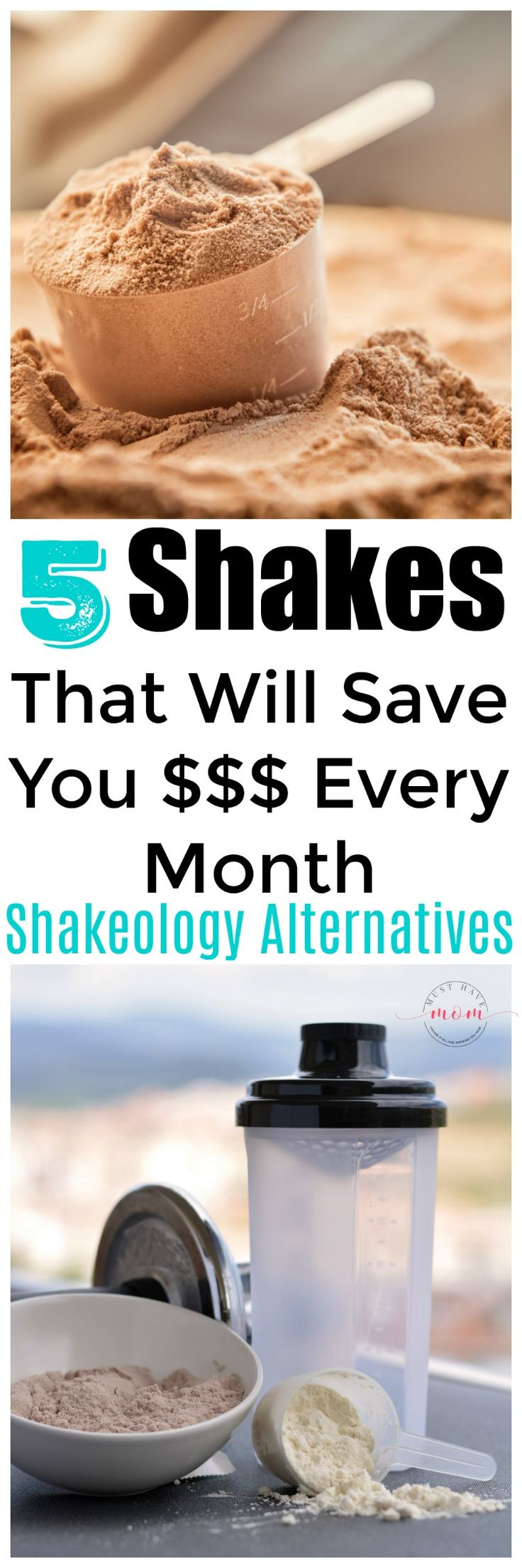 5 Shakeology alternatives for people who are broke! 21 Day Fix on a budget!