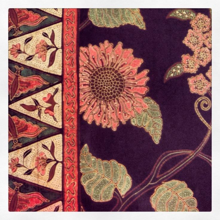 Batik from Jakarta, Indonesia
