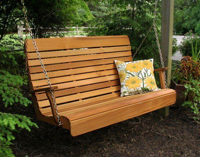 balancelle de jardin exemples pour votre espace extrieur