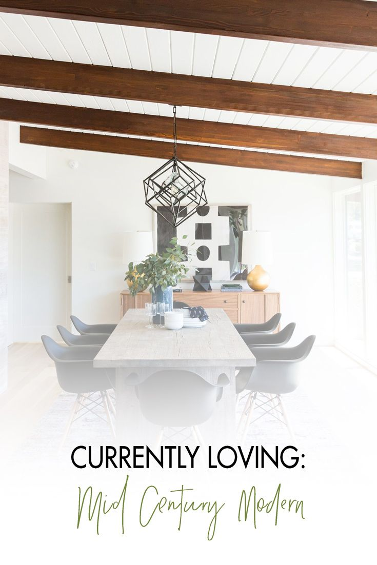 Do you want to have a Mid Century Modern home? Read this blog post!