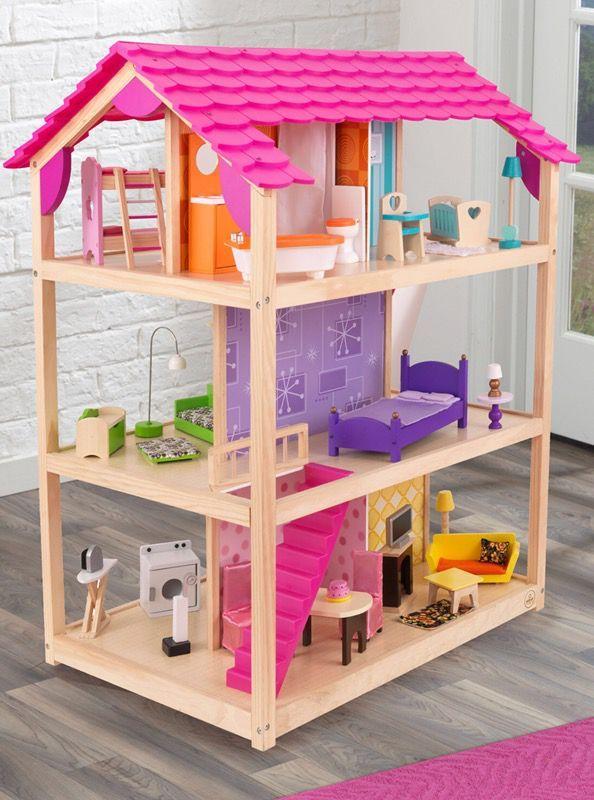 So Chic Dollhouse Kid Kraft For Sale In Bristol Ri Offerup Doll House Plans Barbie Doll House Diy Barbie House