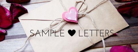 Sample letter writing