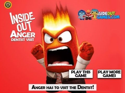 Inside Out - Anger Tooth Problems - Game Tutorial 2016