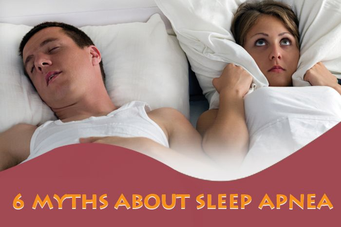 6 Myths About #SleepApnea