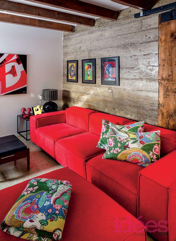 Une maison haute en couleur ©TVA Publications | Mario Mellilo