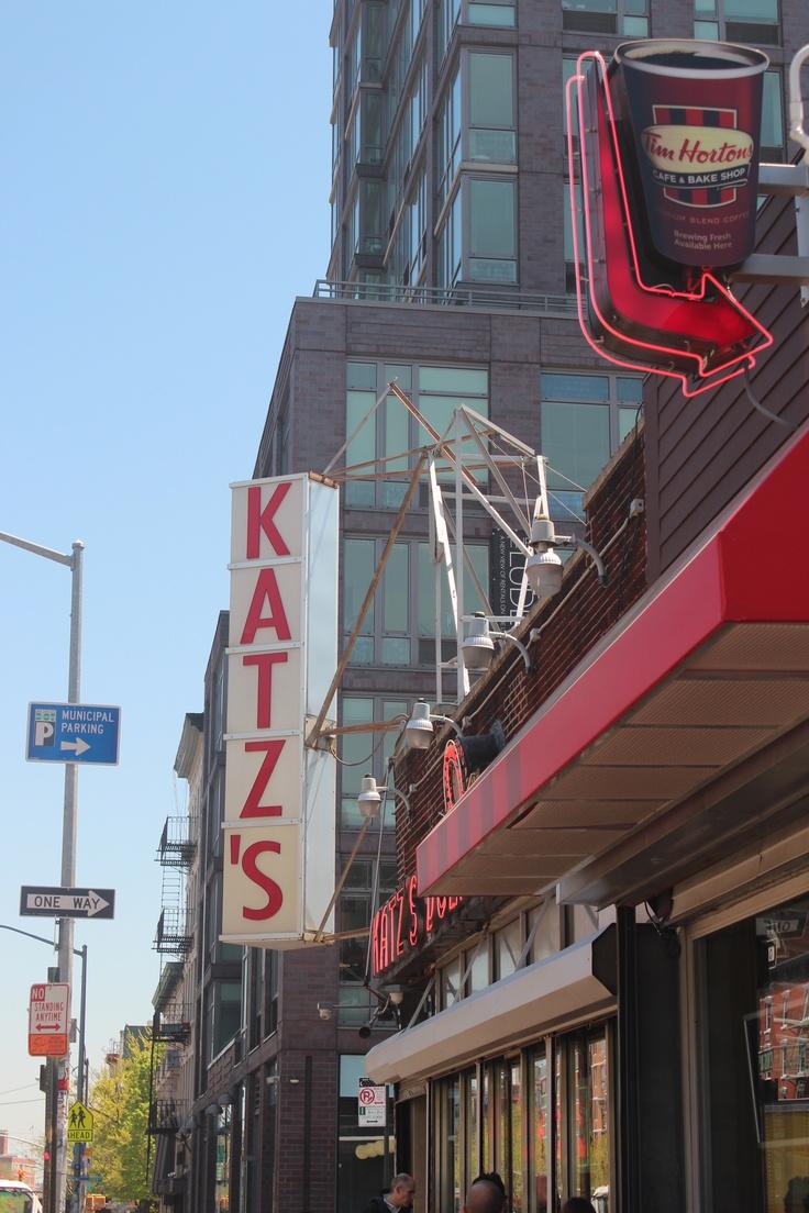 My favourite deli in NYC, Katzs