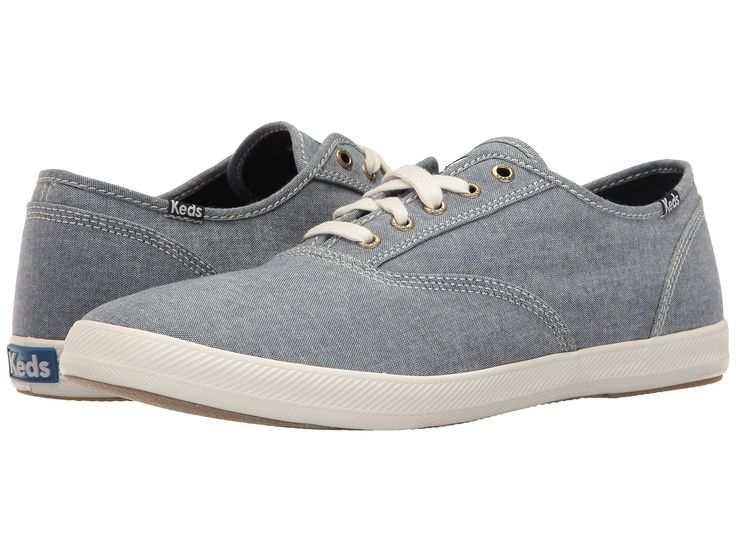 KEDS Champion CVO Seasonals Chambray. #keds #shoes #